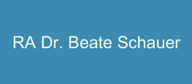 Kanzlei Dr. Beate Schauer Logo