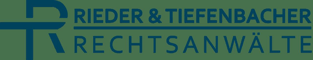 Logo Kanzlei Rieder & Tiefenbacher Rechtsanwälte