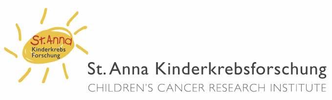 St.-Anna-Kinderkrebsforschung-Logo