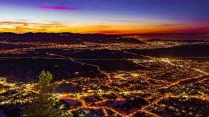 Blick über Dornbirn Stadt