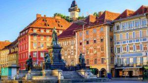 Gerichtsgebäude Graz - Anwalt Erbrecht Graz