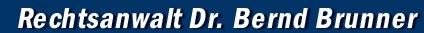 Anwaltskanzlei Dr. Bernd Brunner Logo