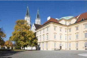 Blick auf Klosterneuburger Stift