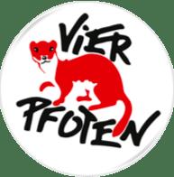 Vier Pfoten Logo Testament spenden
