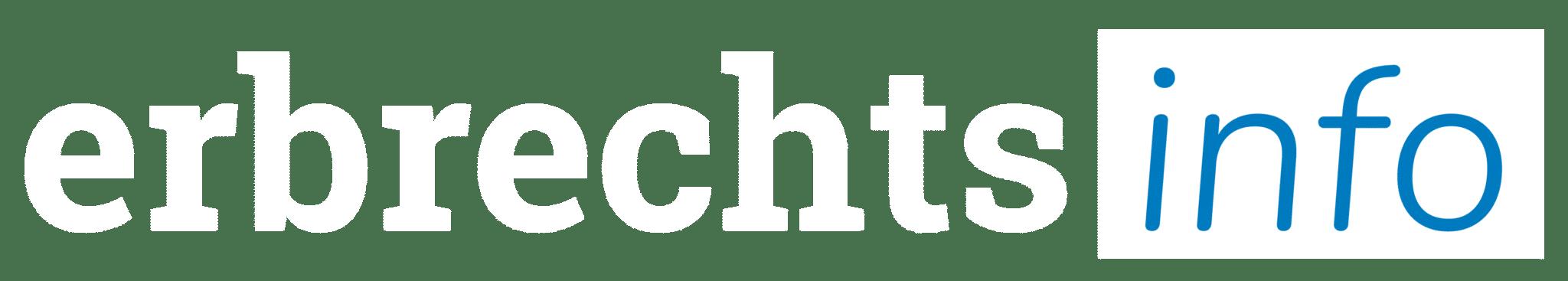 Erbrechtsinfo Logo weiss