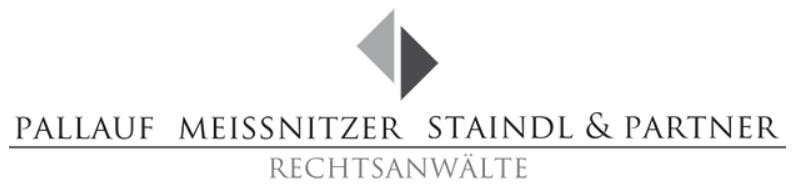 Logo Kanlzei Pallauf Meissnitzer Staindl & Partner