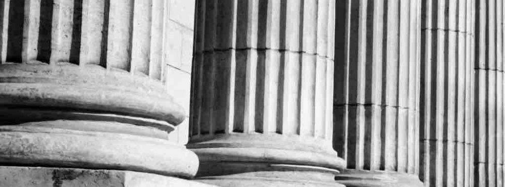 Säulen des Gerichts in Wien
